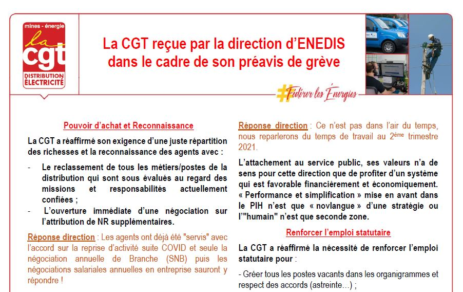 Tract CGT Energie 23 Octobre 2020